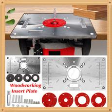 Machine, woodworkingbenche, routerinsertplate, insertplate