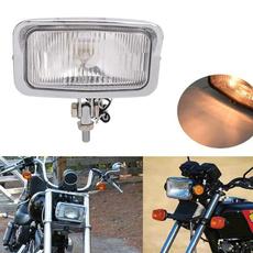 amber, Head, motorcycleheadlight, universalmotorcycleheadlight