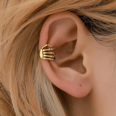 punk style, punk earring, Clip, Halloween