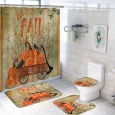 Bathroom, Cover, waterproofshowercurtain, showercurtainset