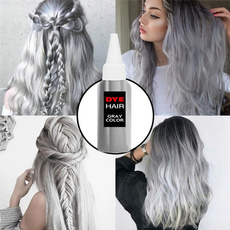 platinum, Gray, hairdyecream, haircoloring