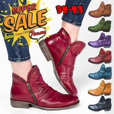 Flats, Fashion, Boots, Pleated