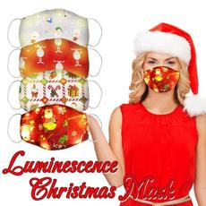 glowingmask, ledravemask, Christmas, Dancing