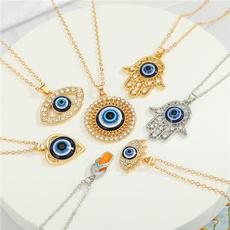 clavicle  chain, Fashion, Chain, Heart