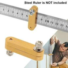 Steel, Tool, Stainless Steel, ttypeholeruler