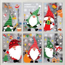 glassdecoration, Christmas, Glass, Stickers