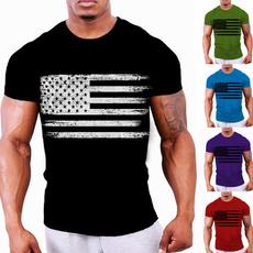 Fashion, Shirt, American, summer t-shirts