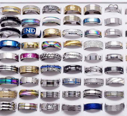 Steel, Couple Rings, Fashion, lover gifts