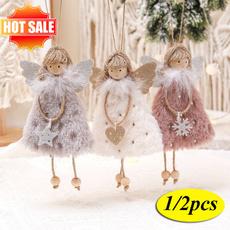treependant, plushangelpendant, Christmas, christmaspendant