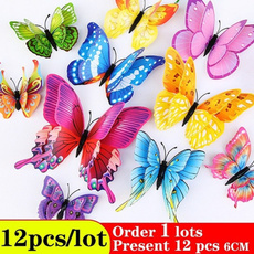 butterfly, Magnet, art, decoration