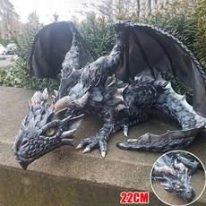 dragonsculpture, Goth, desktopdecor, Outdoor