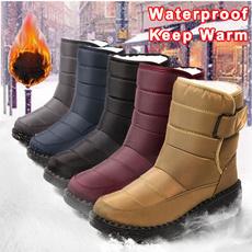 non-slip, warmcottonshoe, cottonshoe, Womens Boots