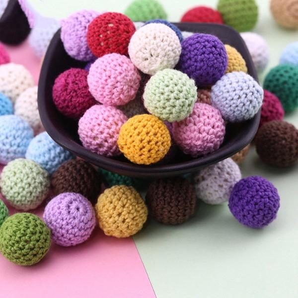 Toy, Knitting, crochetbead, Wooden