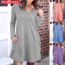dressesforwomen, Long Sleeve, Dress, short dresses