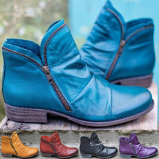 Plus Size, Womens Shoes, leather, boots for women