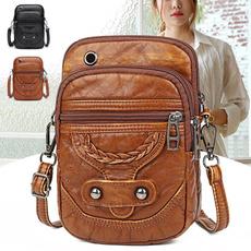 Shoulder Bags, Fashion, PU, Simple