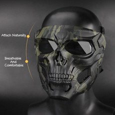 Helmet, skullmaskmilitary, airsoft', partymask