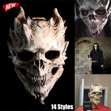 scary, Head, masqueradehalloween, horrormask