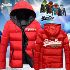 Fashion, hooded coat, zipperjacket, winterdowncoat