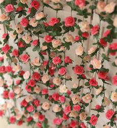 fakerosevine, Flowers, Garden, Garland