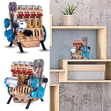 engine, Mini, fourcylinderengine, contemporarymanufacture
