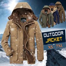 Fleece, Plus Size, trenchcoatformen, Winter