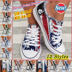 Sneakers, Plus Size, shoes for womens, Denim