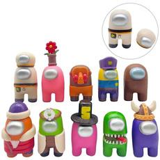 among, Toy, figure, 10 pcs