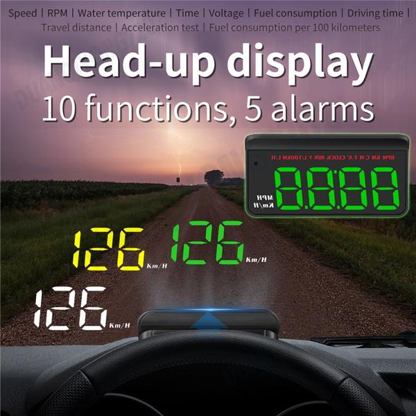 headupdisplay, Head, speedwarning, speedometer
