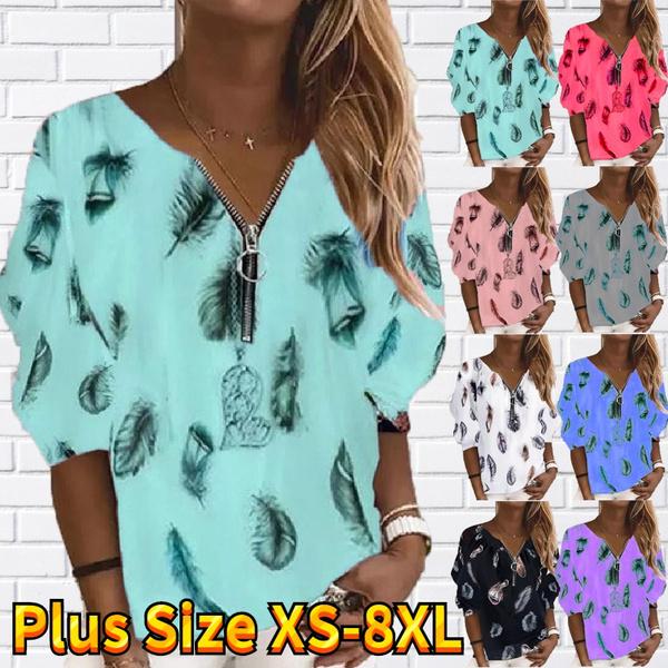 Plus Size, long sleeve dress, Women Blouse, Long Sleeve