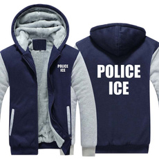 Fashion, policeice, Fleece Hoodie, Ice