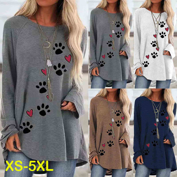 women pullover, Plus Size, Long Sleeve, Spring
