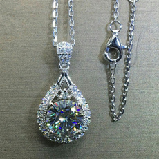 crystal pendant, DIAMOND, Anniversary Gift, Jewelry
