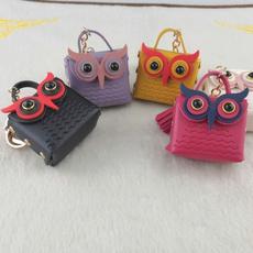 Owl, mnihandbag, Chain, cute