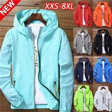 waterproofcoat, Plus Size, hoodedjacket, unisex