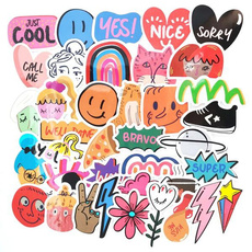 cute, Motorcycle, toysticker, Stickers