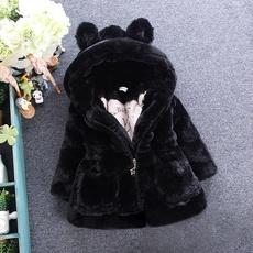 Baby Girl, Fashion, fur, Winter
