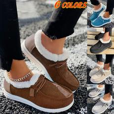 Flats, Fashion, Cotton, Winter