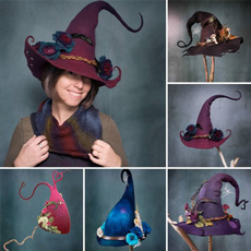 Fashion, halloweenhat, Halloween Costume, hats for women