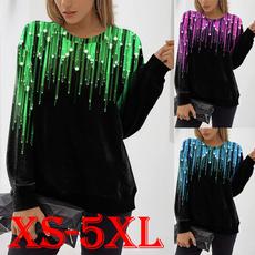 Plus size top, womens top, casual shirt, Autumn Shirts