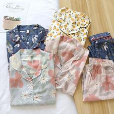 women's pajamas, Sleepwear, Summer, sleepwearset