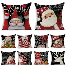 Christmas Decoration, pillowcasecushion, pillowcasehome, Christmas