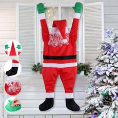 Outdoor, Christmas, christmashangingornament, santaclaustoy