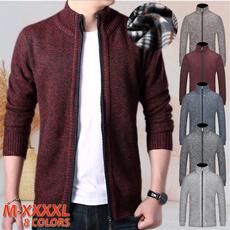 Stand Collar, Clothing & Accessories, Fleece, fullzip