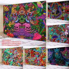 trippytapestry, Wall Art, tapestryhippie, psychedelictaepstry