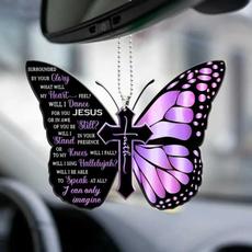 butterfly, wishcarhangingornament, Ornament, Mirrors