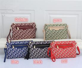 Shoulder Bags, mcm, Fashion, Canvas