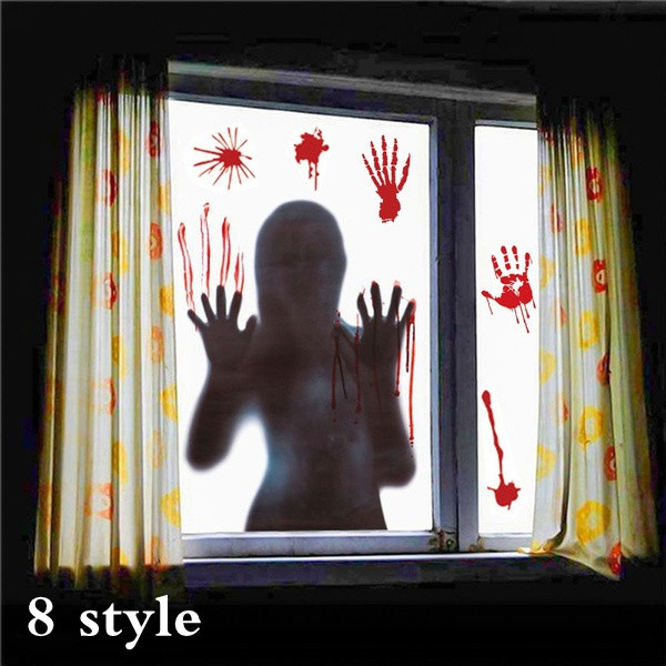 scary, windowsticker, Home & Kitchen, Home & Living