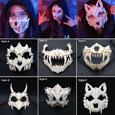 scary, Cosplay, resinmask, skull