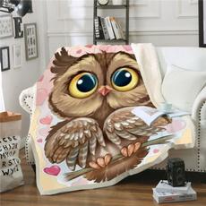 airconditioningblanket, Owl, Fleece, Picnic